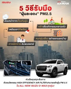 วิธีรับมือ PM2.5